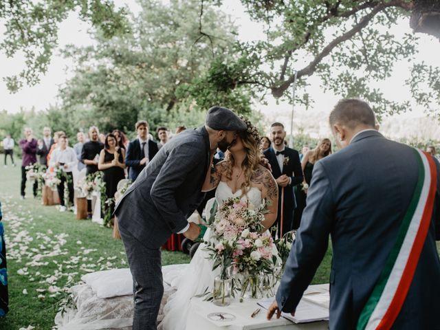 Il matrimonio di Crisitian e Sarah a Roma, Roma 35