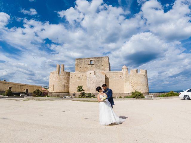 Il matrimonio di Simone e Valentina a Brucoli, Siracusa 15