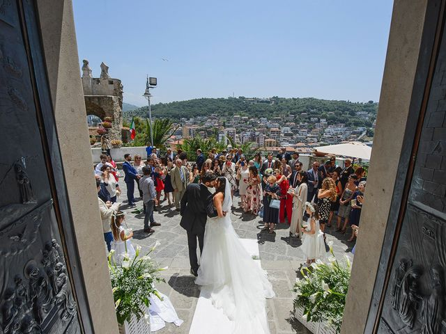 Il matrimonio di Antonio e Letizia a Amalfi, Salerno 30