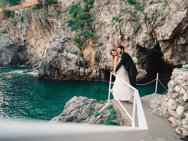 Il matrimonio di Antonio e Letizia a Amalfi, Salerno 45