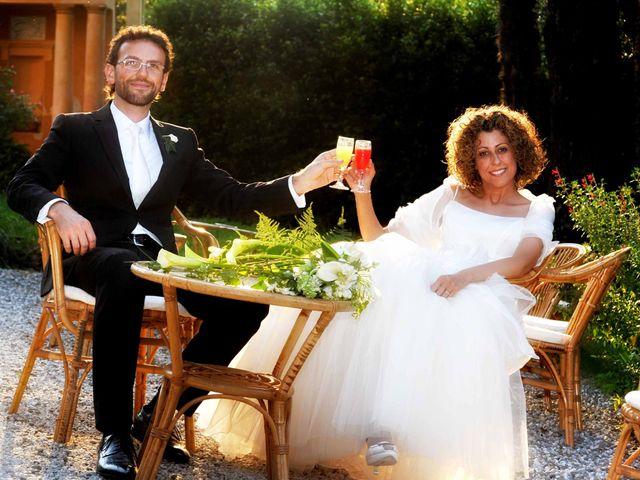 Il matrimonio di Isabella e Luca a Montecarlo, Lucca 46