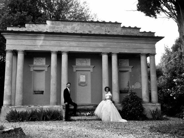 Il matrimonio di Isabella e Luca a Montecarlo, Lucca 48
