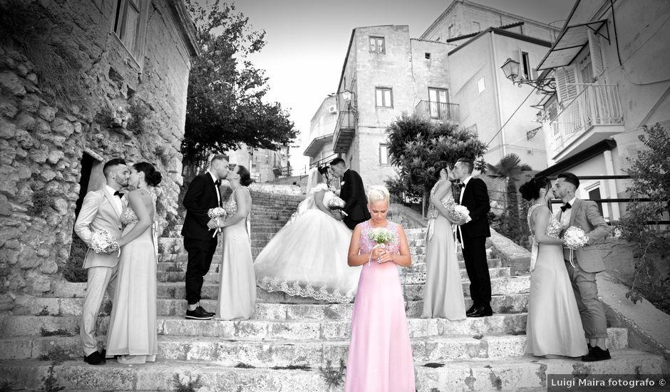 Il matrimonio di Mike e Angela a Sommatino, Caltanissetta