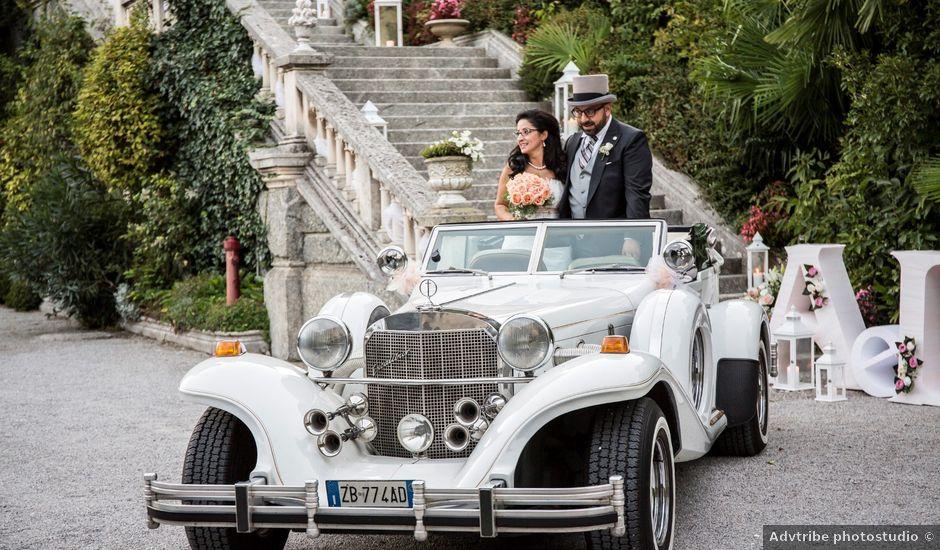 Il matrimonio di alessandra e domenico a Cassano d'Adda, Milano