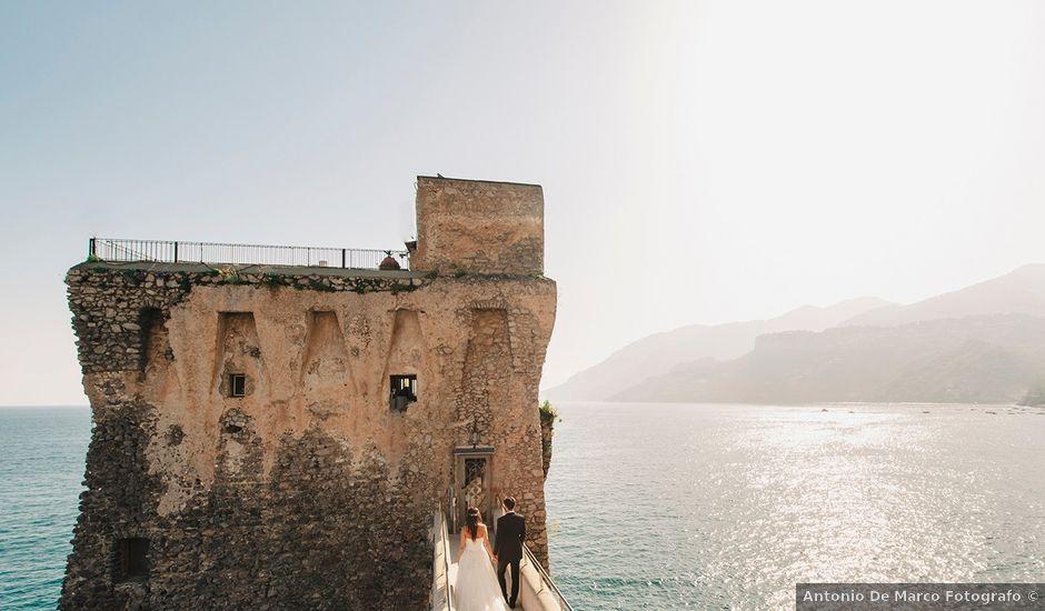 Il matrimonio di Antonio e Letizia a Amalfi, Salerno