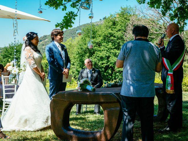 Il matrimonio di Massimo e Sandra Elizabeth a Roccantica, Rieti 12
