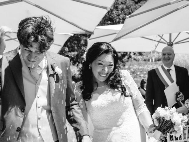 Il matrimonio di Massimo e Sandra Elizabeth a Roccantica, Rieti 16
