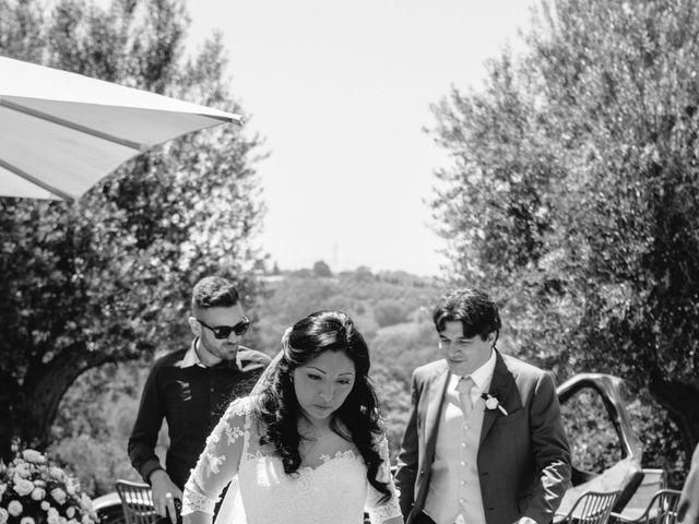 Il matrimonio di Massimo e Sandra Elizabeth a Roccantica, Rieti 19