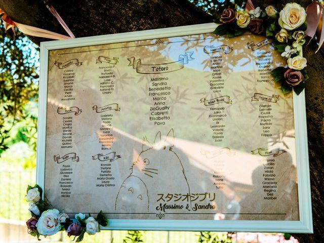 Il matrimonio di Massimo e Sandra Elizabeth a Roccantica, Rieti 21