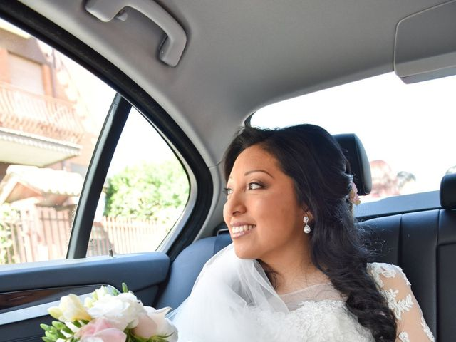 Il matrimonio di Massimo e Sandra Elizabeth a Roccantica, Rieti 5