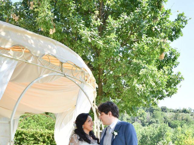 Il matrimonio di Massimo e Sandra Elizabeth a Roccantica, Rieti 31