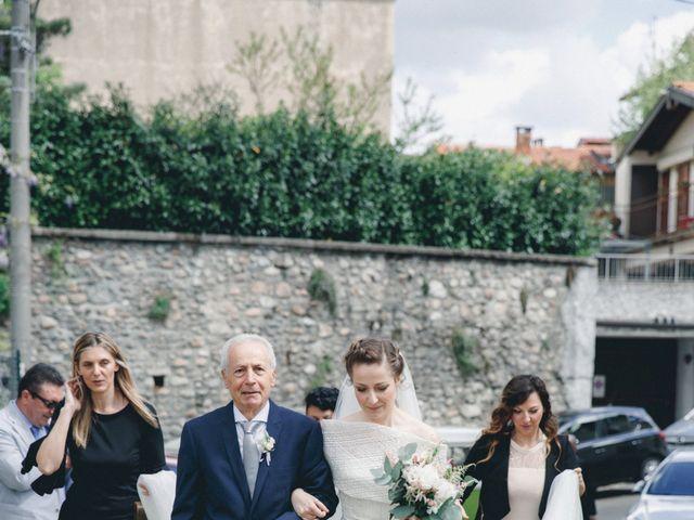 Il matrimonio di Enrico e Roberta a Clivio, Varese 23