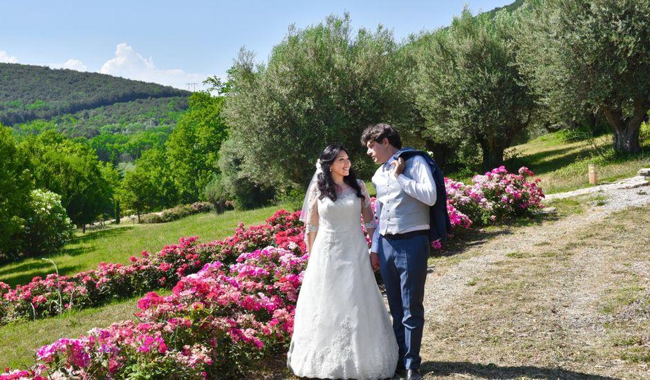 Il matrimonio di Massimo e Sandra Elizabeth a Roccantica, Rieti