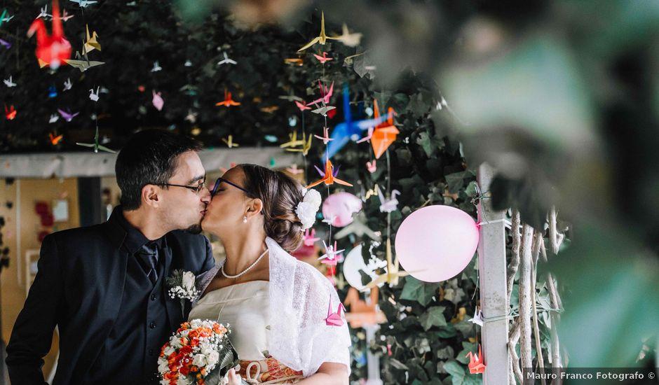 Il matrimonio di Andrea e Monica a Buriasco, Torino