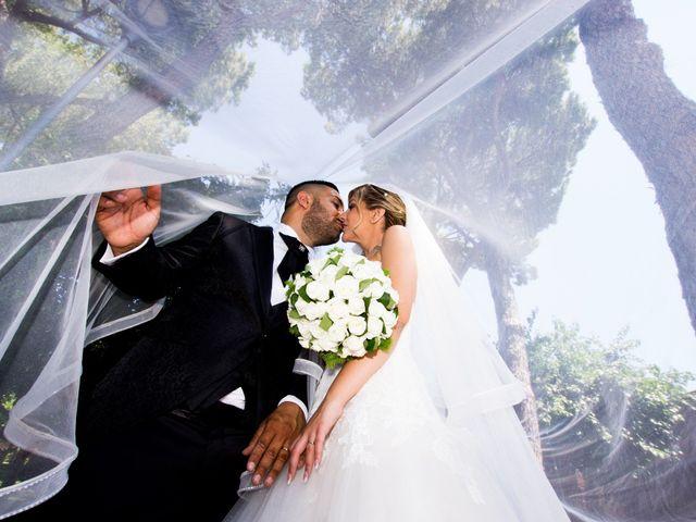 Le nozze di Donatella e Alex