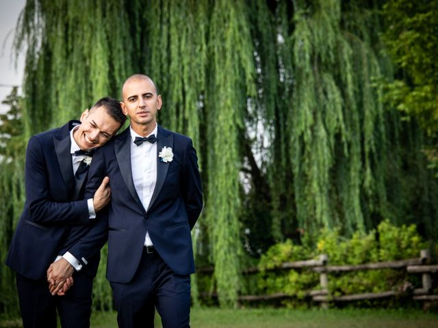 le nozze di Denis e Angelo
