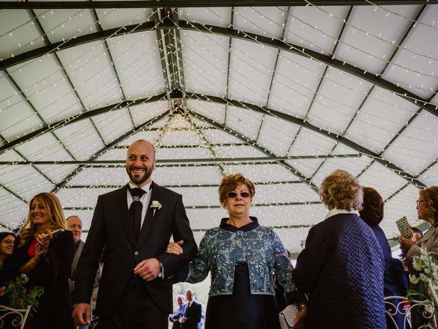 Il matrimonio di Mirko e Valeria a Trescore Balneario, Bergamo 25