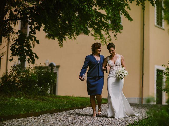 Il matrimonio di Mirko e Valeria a Trescore Balneario, Bergamo 26