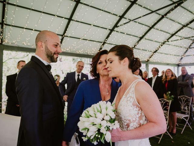 Il matrimonio di Mirko e Valeria a Trescore Balneario, Bergamo 30