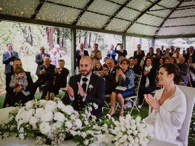 Il matrimonio di Mirko e Valeria a Trescore Balneario, Bergamo 44