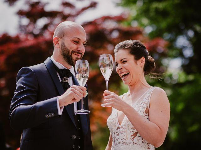 Il matrimonio di Mirko e Valeria a Trescore Balneario, Bergamo 51