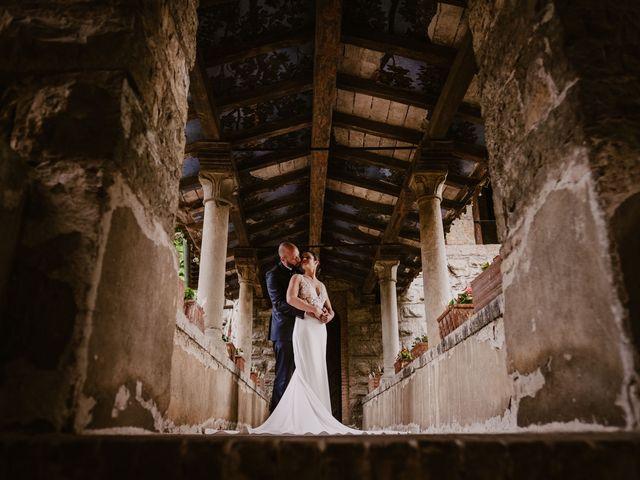 Il matrimonio di Mirko e Valeria a Trescore Balneario, Bergamo 57