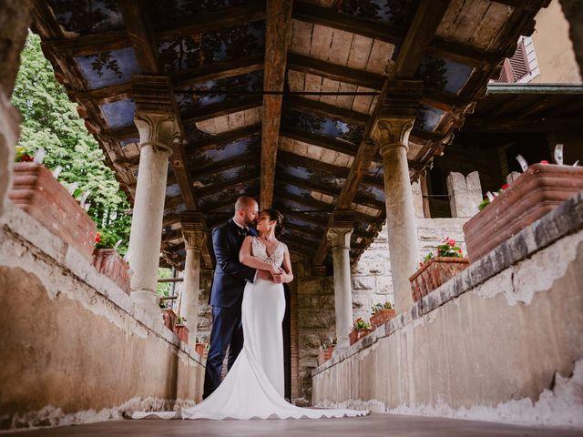 Il matrimonio di Mirko e Valeria a Trescore Balneario, Bergamo 60