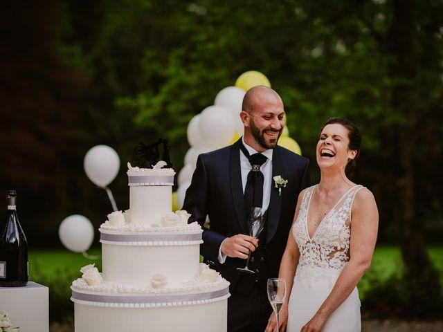 Il matrimonio di Mirko e Valeria a Trescore Balneario, Bergamo 78