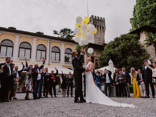 Il matrimonio di Mirko e Valeria a Trescore Balneario, Bergamo 81