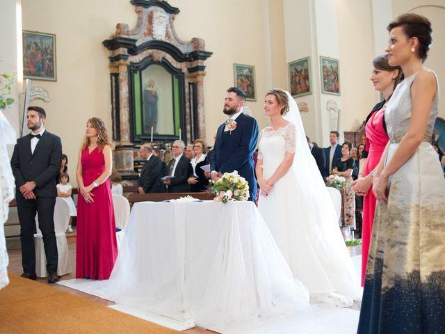 Il matrimonio di Andrea e Gaia a Treville, Alessandria 17