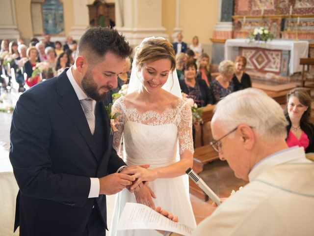 Il matrimonio di Andrea e Gaia a Treville, Alessandria 24