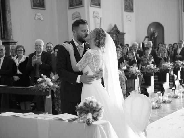 Il matrimonio di Andrea e Gaia a Treville, Alessandria 26