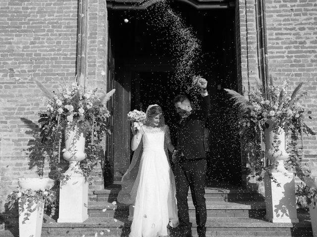 Il matrimonio di Andrea e Gaia a Treville, Alessandria 28