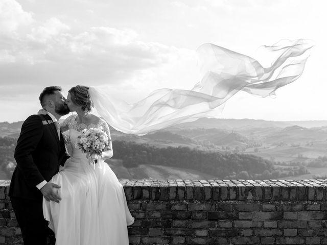 Il matrimonio di Andrea e Gaia a Treville, Alessandria 31