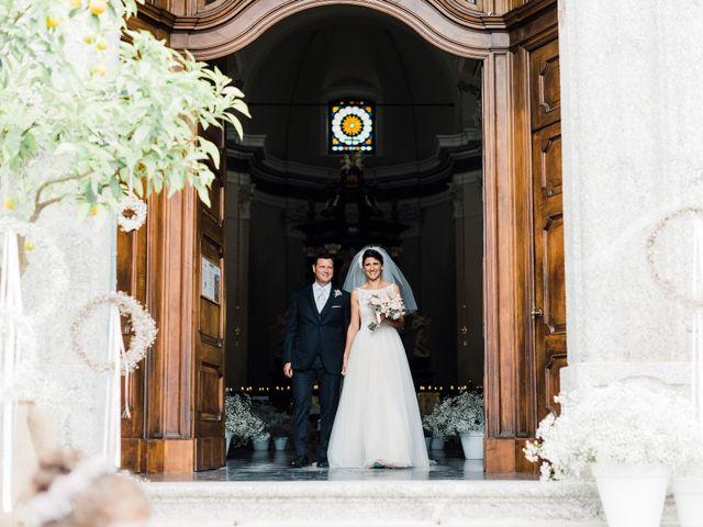 Il matrimonio di Daniele e Elisa a Mezzegra, Como 43