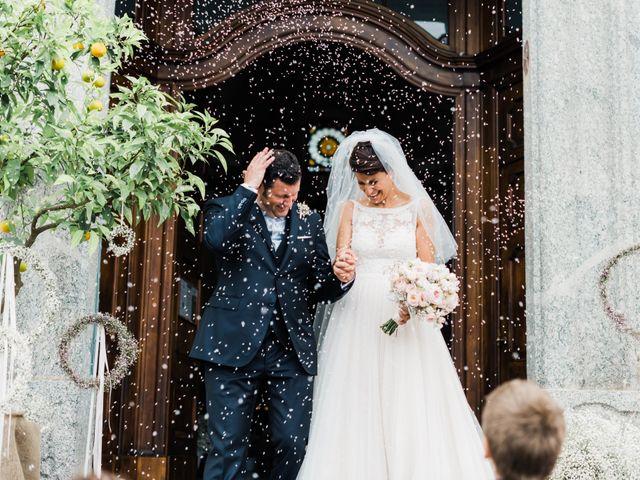 Il matrimonio di Daniele e Elisa a Mezzegra, Como 44