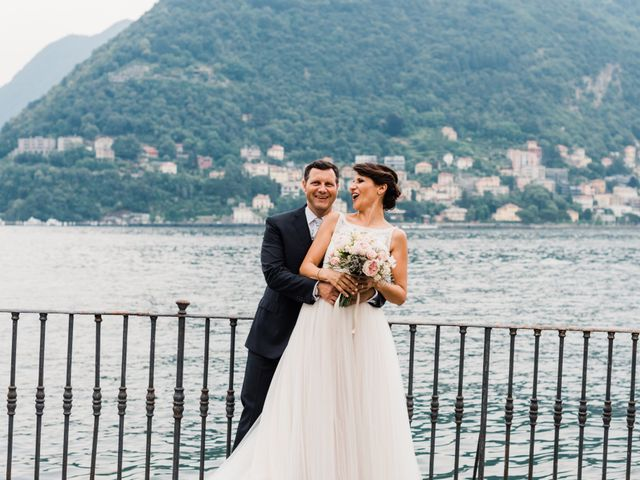 Il matrimonio di Daniele e Elisa a Mezzegra, Como 61