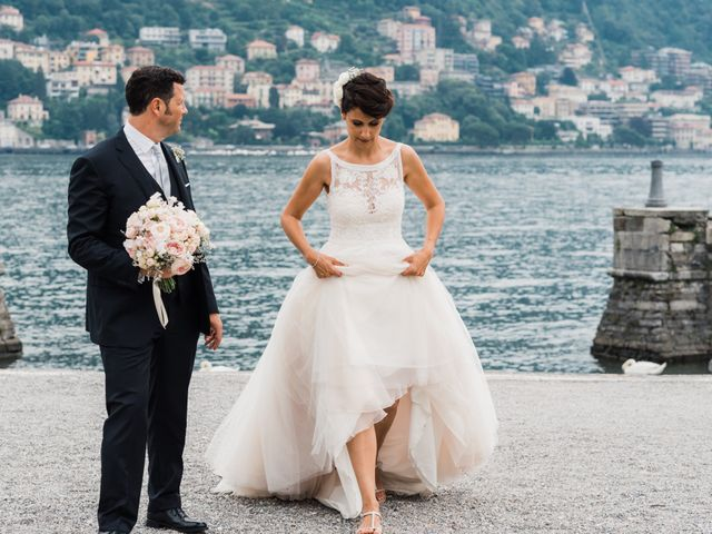 Il matrimonio di Daniele e Elisa a Mezzegra, Como 64