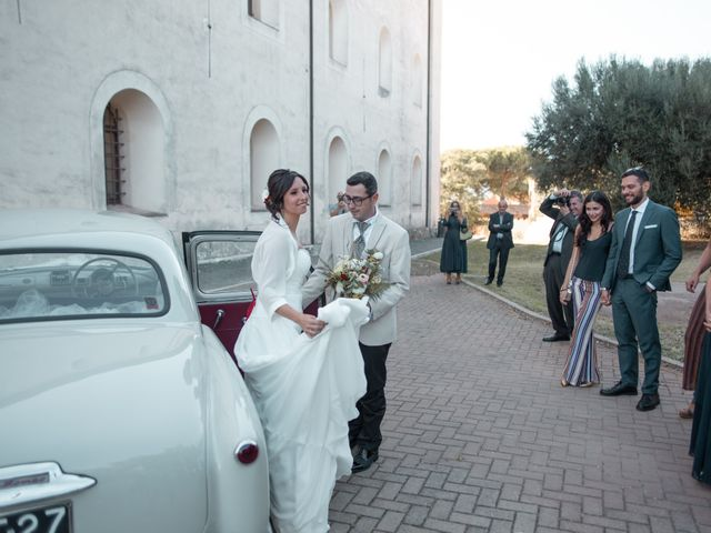 Il matrimonio di Andrea e Laura a Cerveteri, Roma 29