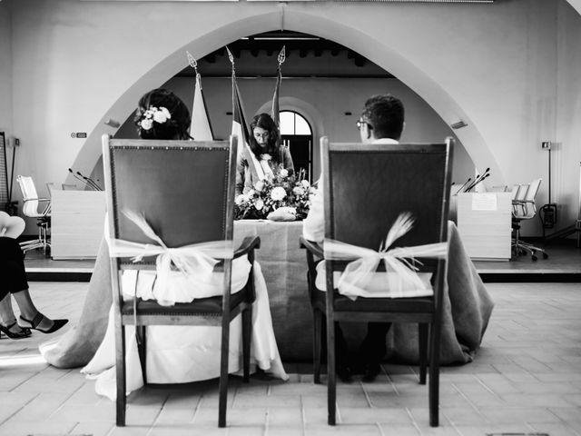 Il matrimonio di Andrea e Laura a Cerveteri, Roma 34