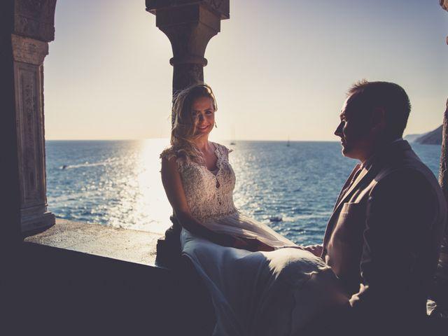 Il matrimonio di Costel e Crina a Portovenere, La Spezia 31