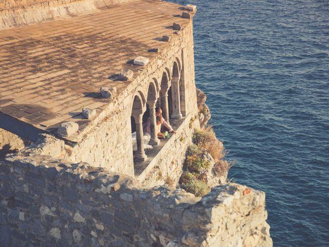 Il matrimonio di Costel e Crina a Portovenere, La Spezia 39