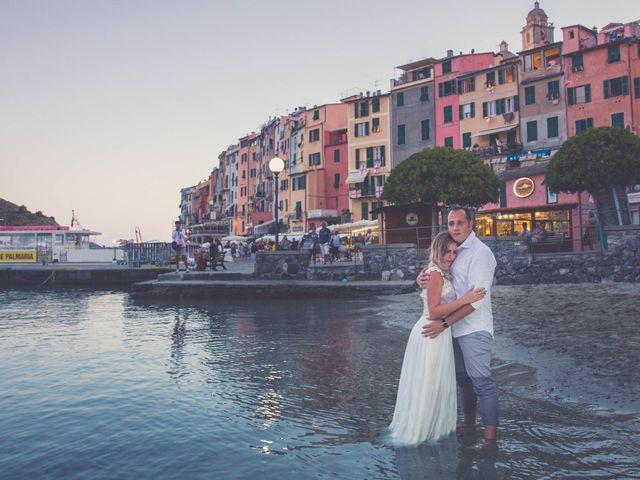 Il matrimonio di Costel e Crina a Portovenere, La Spezia 81