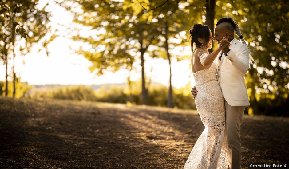 Il matrimonio di Samuel e Grethel a Lu, Alessandria