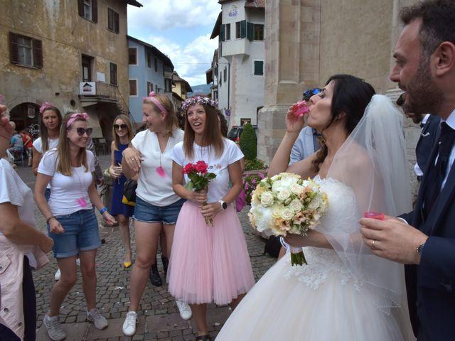 Il matrimonio di Paolo e Linda a Appiano sulla strada del vino-EppanB, Bolzano 12