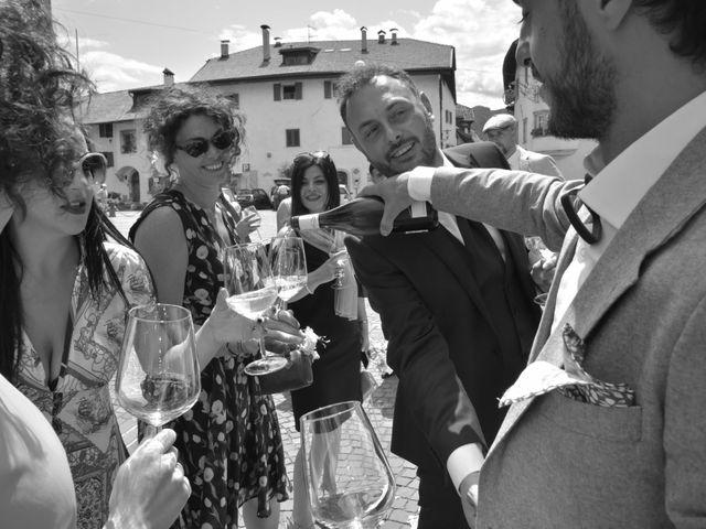 Il matrimonio di Paolo e Linda a Appiano sulla strada del vino-EppanB, Bolzano 14