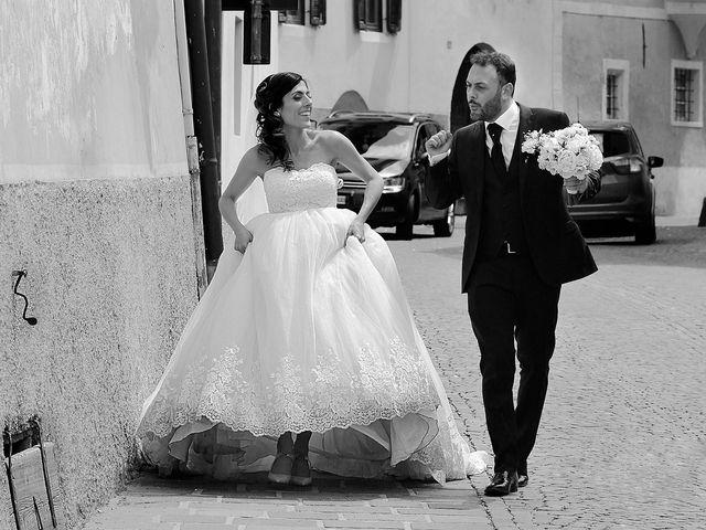 Il matrimonio di Paolo e Linda a Appiano sulla strada del vino-EppanB, Bolzano 33