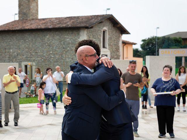 Il matrimonio di Diego e Irina a Grassobbio, Bergamo 17