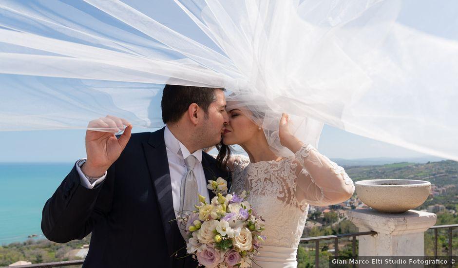 Il matrimonio di Luca e Angelica a Vasto, Chieti