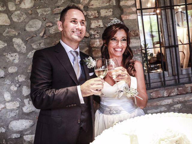 Le nozze di Maria Grazia e Fabrizio